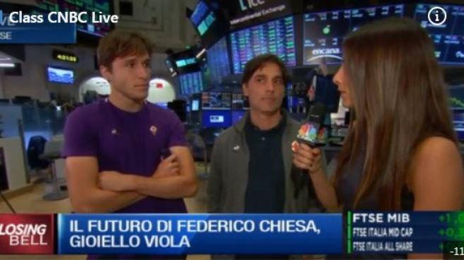 Un momento dell'intervista a Milano Finanza Cnbc
