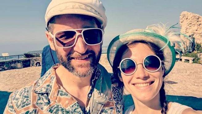 Amanda Knox con il fidanzato a Nizza (da Instagram)