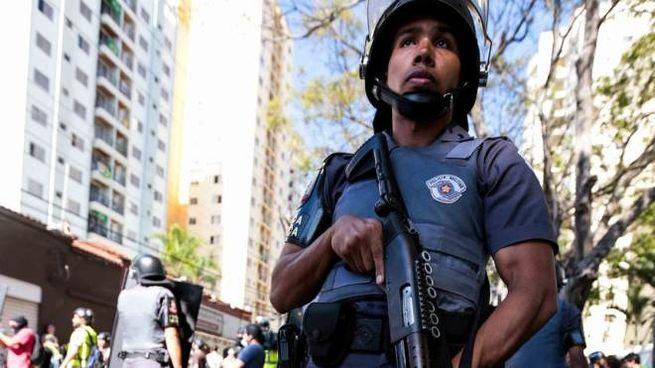 Polizia brasiliana, foto generica
