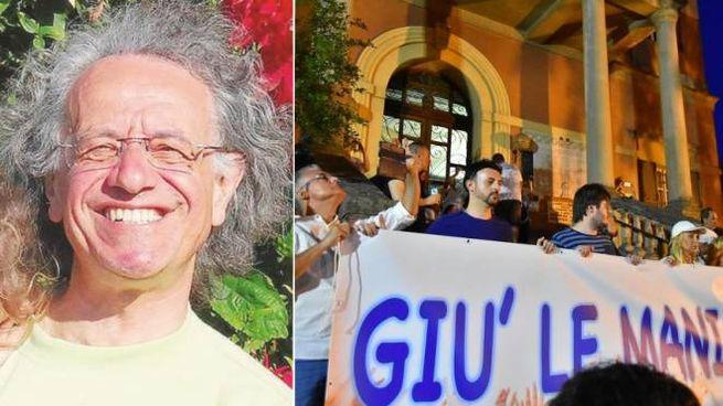 Claudio Foti, al centro del caso Bibbiano
