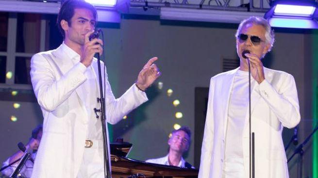 Andrea Bocelli duetta col figlio Matteo