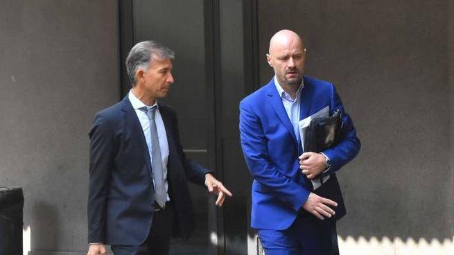 L'avvocato Tarquini e il sindaco Carletti (foto Artioli)