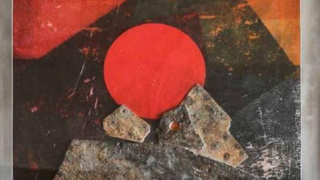 Sole rosso di Roberto Crippa