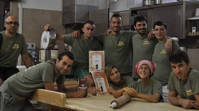 La famiglia Cappelletti e Bongiovanni festeggiano con lo taff