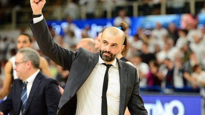 Il coach della Grissin Bon Maurizio Buscaglia (foto dal sito ufficiale)