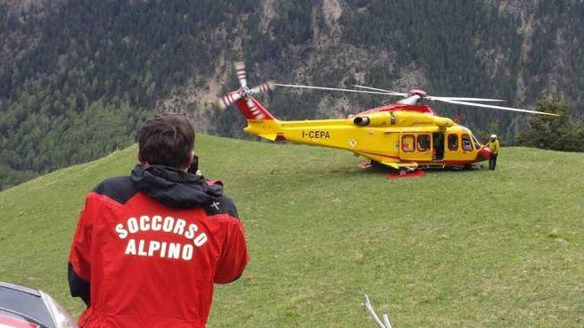 Elisoccorso e soccorso alpino (Foto d'archivio)