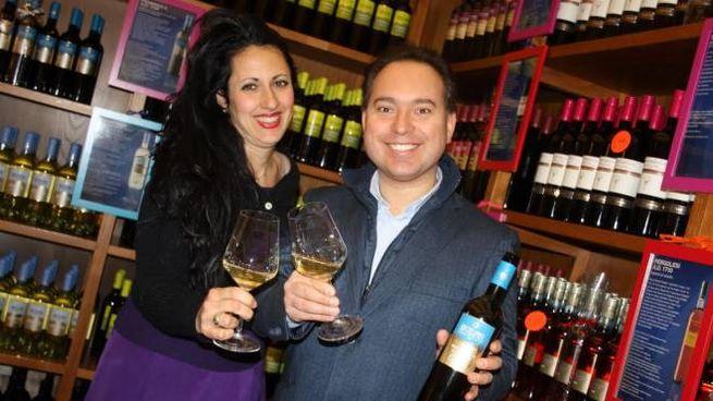 Montecappone, Gianluca Mirizzi con sua moglie