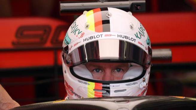 F1, Sebastian Vettel (foto Lapresse)