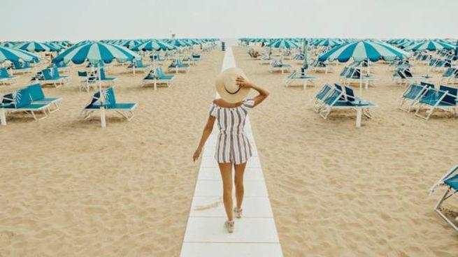 Grande organizzazione ma spiagge deserte nell'estate della Versilia