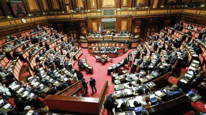 Discussione in Senato (Ansa)