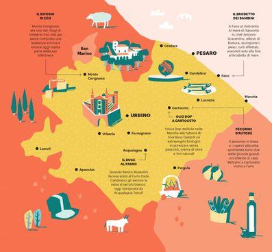 Marche: Pesaro e Urbino