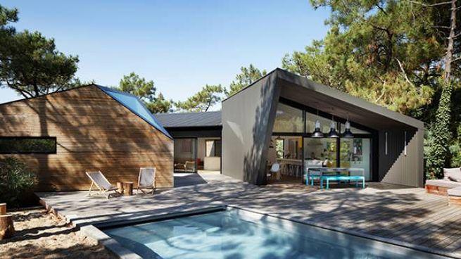 Les cabanes a Cap Ferret