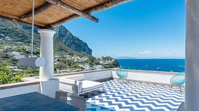 dimora di design a Capri