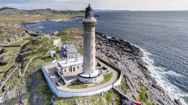 Potete dormire nel faro Ardnamurchan Lighthouse in Scozia