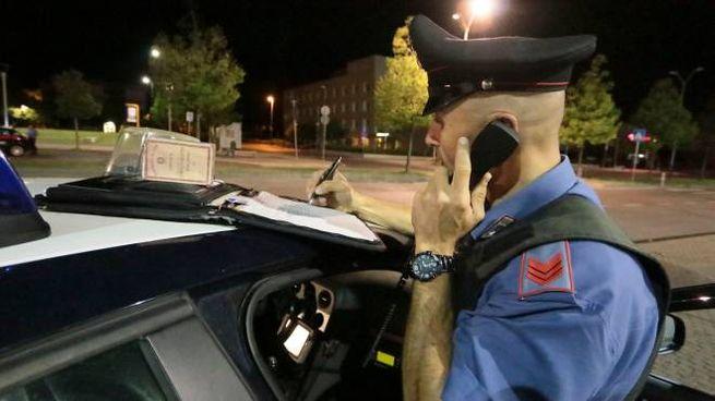 I carabinieri sono riusciti a bloccare l'uomo (Foto di repertorio)