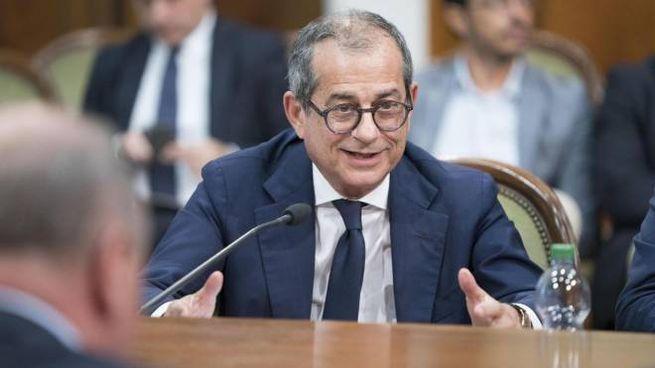 Il ministro Giovanni Tria (Ansa)