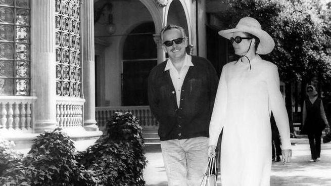 Grace e Ranieri  di Monaco in città