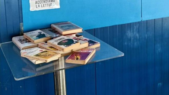 Book Station alla piscina Cavina