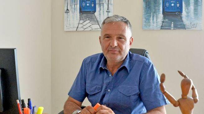 Luca Rizza, 56 anni, titolare della concessionaria multimarca Maticar di via Magenta nella