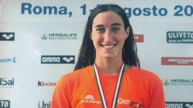 Michela Caglio campionessa a sedici anni