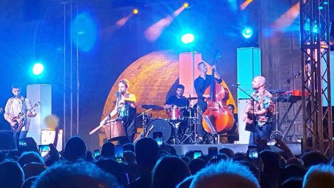 Il concerto dei La Rua (Foto La Bolognese)