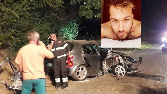 Incidente a Castignano, nel riquadro Senior Bekiri