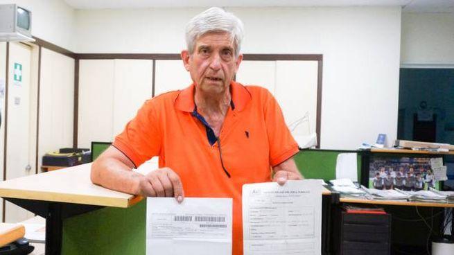 Luigi Bertonati, il paziente malcapitato
