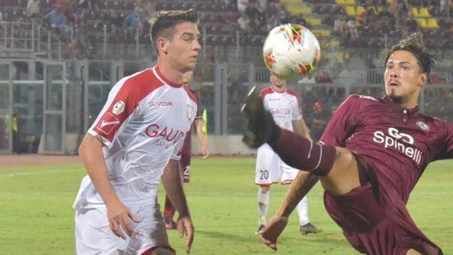 Il Carpi elimina il Livorno dalla Coppa Italia (Foto Novi)