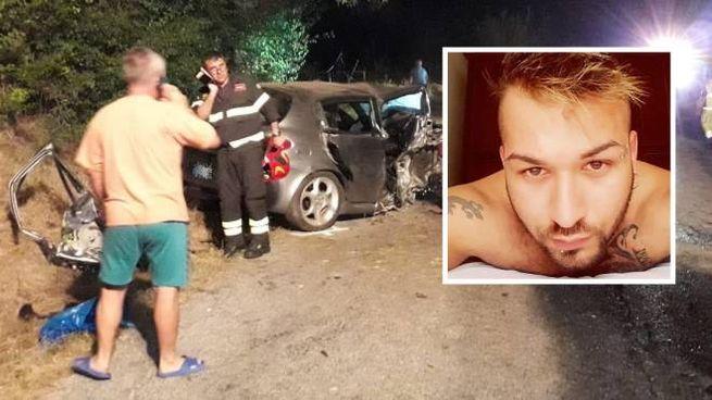 Incidente Castignano,Sejnur Bekiri e la vettura distrutta