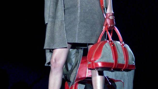 Una borsa del marchio Borbonese (Ansa)