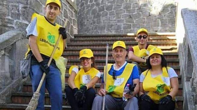 I volontari di legambiente