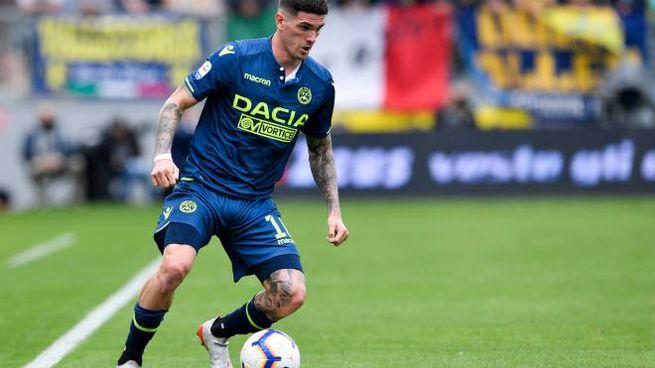 De Paul con la maglia dell'Udinese