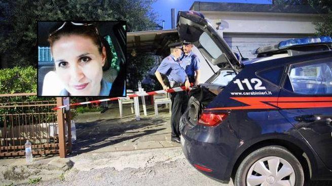 Il delitto di via Chiaramonti, la vittima nel riquadro la vittima, Maria Cegolea