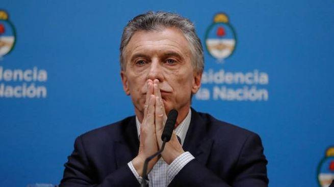 Il presidente dell'Argentina, Mauricio Macri (Ansa)
