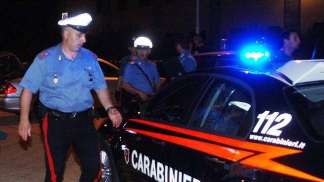 I carabinieri sono intervenuti al parco Pegaso
