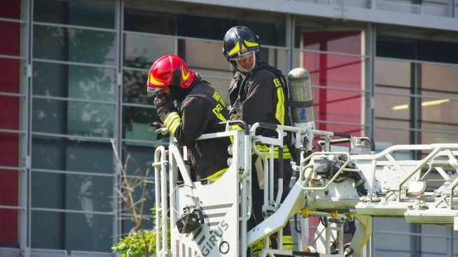 Incendio all'ospedale di Bergamo (De Pascale)