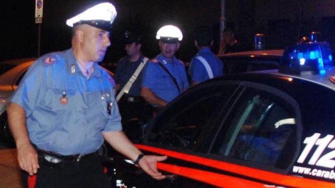 Gli accertamenti dei carbinieri sul colpo a Faltugnano
