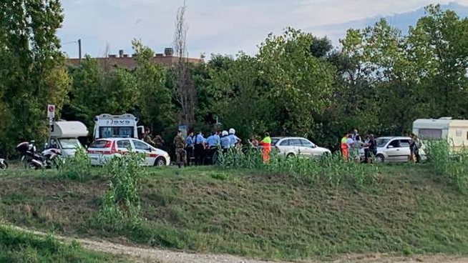 Tensione al Parco del Mulino per una maxi rissa (Foto Novi)