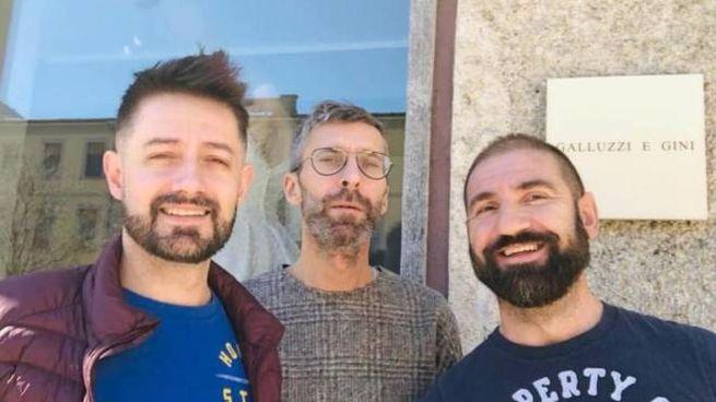 Il team di sarti dell'Atelier Galluzzi e Gini
