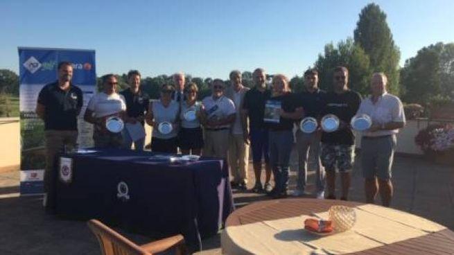 I premiati della Aci Golf Cup al Cosmopolitan