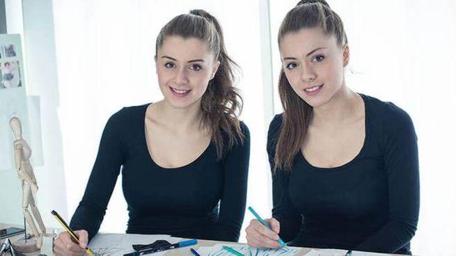 Le sorelle Feleppa in atelier