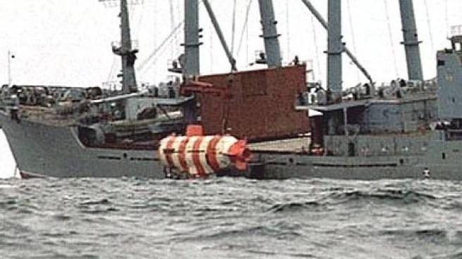 Il sottomarino di soccorso AS 34 in una foto militare russa