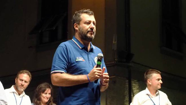 Matteo Salvini a La Spezia