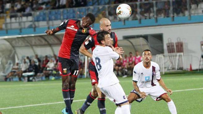 Genoa-Imolese 4-1, il gol di Saponara