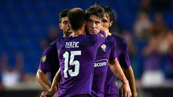 Vlahovic trascina la Fiorentina