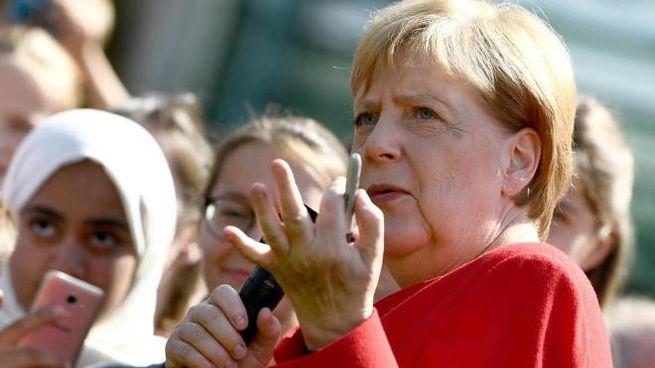 Germania, la cancelliera Angela Merkel (foto Ansa)
