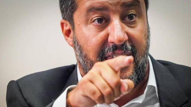Governo, Matteo Salvini (foto Ansa)