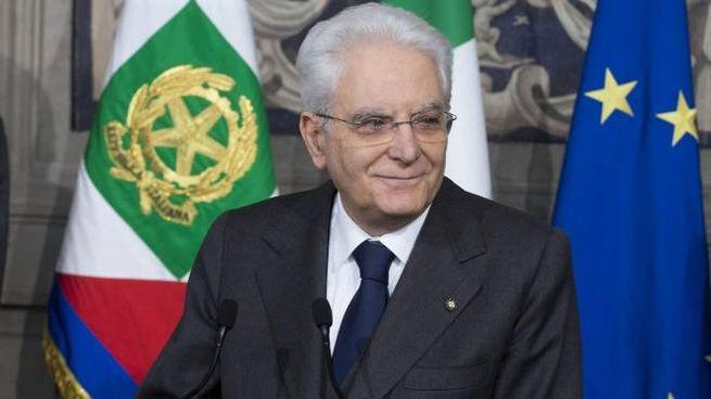 Sergio Mattarella, presidente della Repubblica (Ansa)