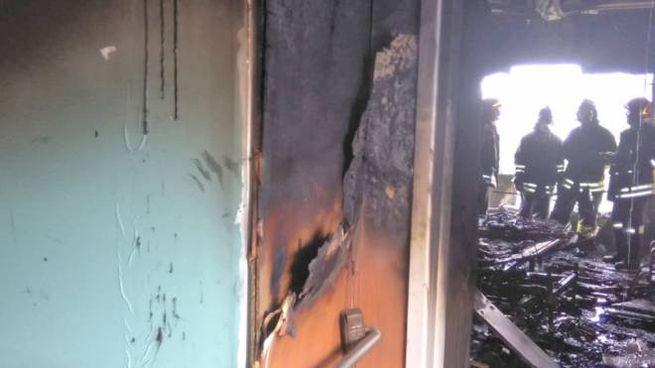 Incendio all'ospedale di Bergamo