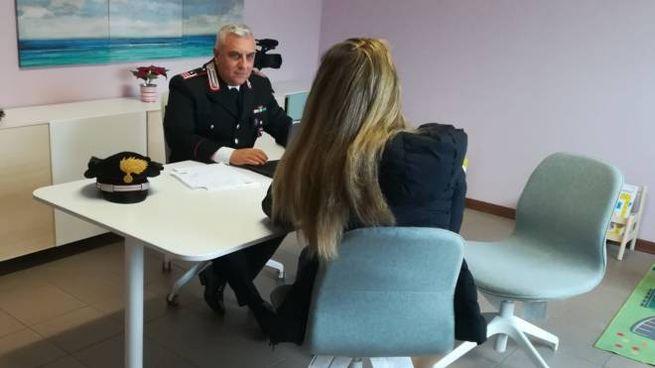 Fondamentale l'intervento dei carabinieri (Foto di repertorio)